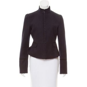 Alessandro Dell'acqua Wool Unstructured Jacket Blk